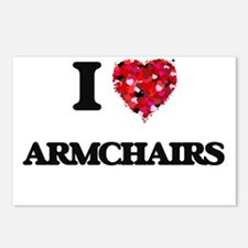 I Love Armchairs Postcards (Package of 8)