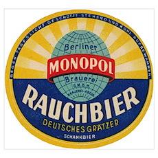 German Rauchbier Poster