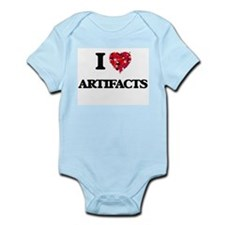 I Love Artifacts Body Suit