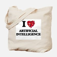 I Love Artificial Intelligence Tote Bag