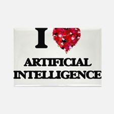 I Love Artificial Intelligence Magnets