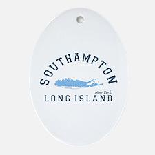 Southampton - Long Island. Ornament (oval)