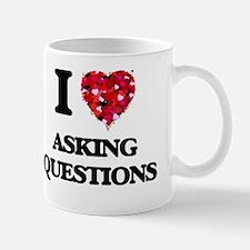 I Love Asking Questions Mug