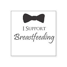 I support Breastfeeding Boys Onesie Sticker