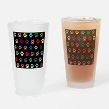 Cute Paws Drinking Glass