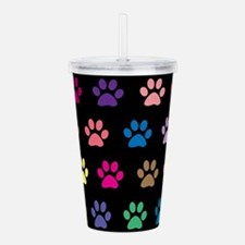 Unique Printed Acrylic Double-wall Tumbler
