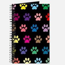 Cute Black background Journal