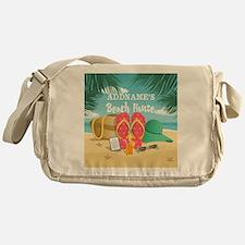 Tropical Paradise Beach House Person Messenger Bag