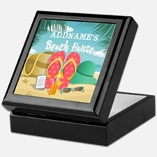 Tropical Paradise Beach House Persona Keepsake Box