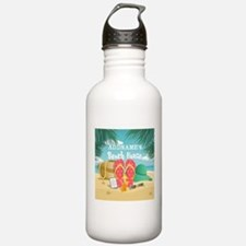 Tropical Paradise Beac Water Bottle