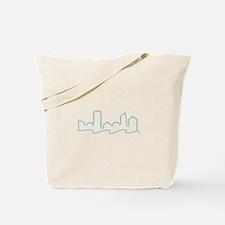 Skyline Outline Tote Bag