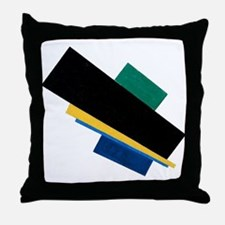 Kazemir Malevich Soviet Russian Artis Throw Pillow