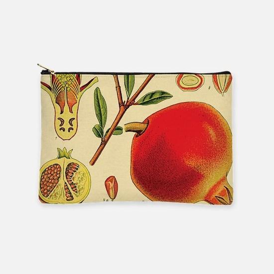 Vintage Pomegranate Makeup Bag
