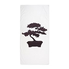 Bonsai Beach Towel