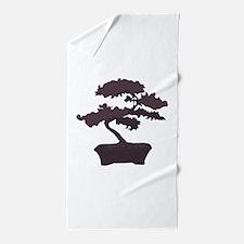 Bonsai Beach Towel