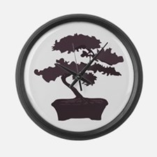 Bonsai Large Wall Clock