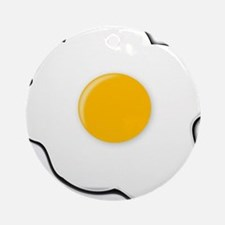 Sunny Side Up Egg Ornament (Round)