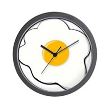 Sunny Side Up Egg Wall Clock