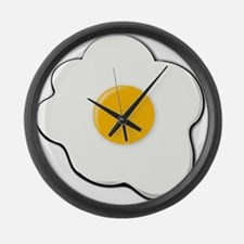 Sunny Side Up Egg Large Wall Clock