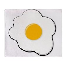 Sunny Side Up Egg Throw Blanket