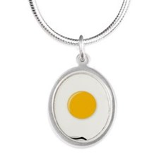 Sunny Side Up Egg Necklaces