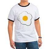 Sunny side up egg Ringer T
