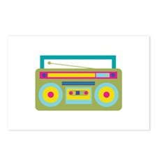 Boom Box Postcards (Package of 8)