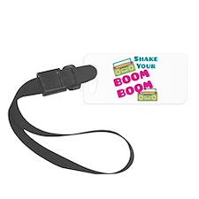 Shake Your Boom Luggage Tag