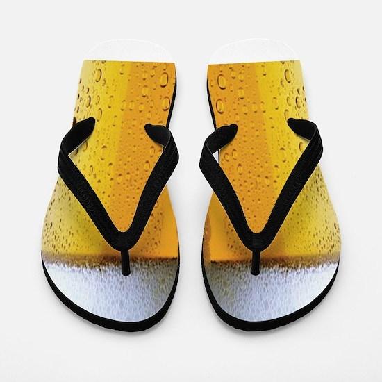 Oktoberfest Foaming Beer Flip Flops