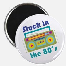 Stuck In 80s Magnets