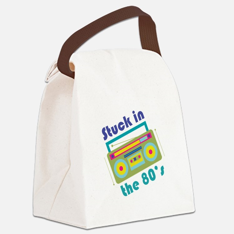 Stuck In 80s Canvas Lunch Bag
