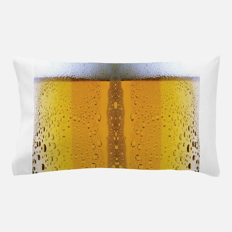 Oktoberfest Foaming Beer Pillow Case