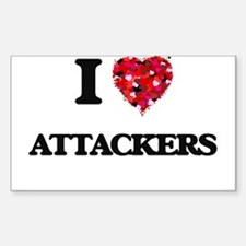 I Love Attackers Decal