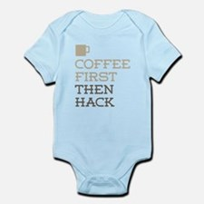 Coffee Then Hack Body Suit