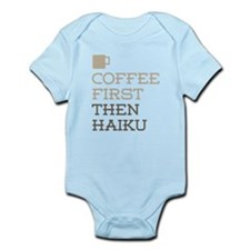 Coffee Then Haiku Body Suit