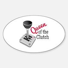 Queen Of Clutch Decal