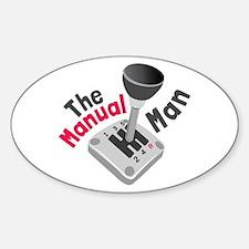 Manual Man Decal