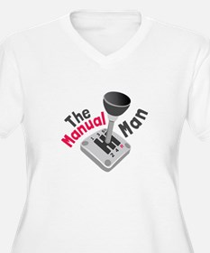 Manual Man Plus Size T-Shirt