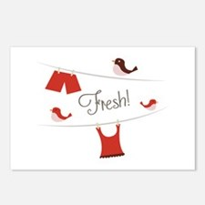Fresh Laundry Postcards (Package of 8)