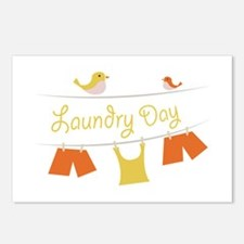 Laundry Day Postcards (Package of 8)