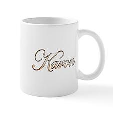 Gold Karon Mug