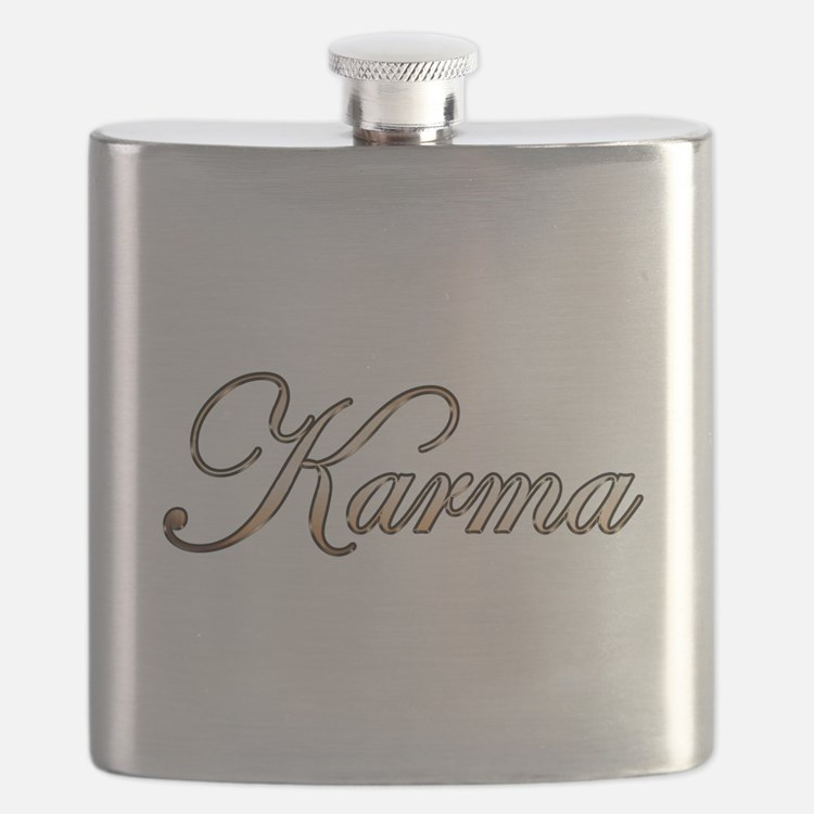 Gold Karma Flask