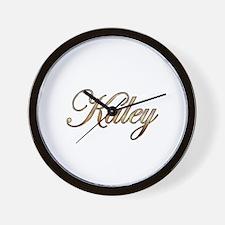 Gold Kaley Wall Clock