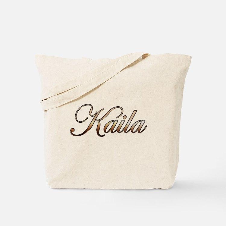 Gold Kaila Tote Bag