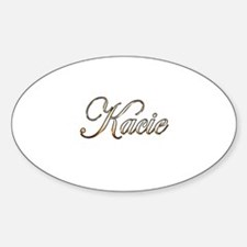 Gold Kacie Decal