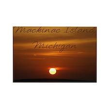 Unique Mackinac island Rectangle Magnet (10 pack)