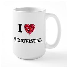 I Love Audiovisual Mugs