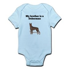 My Brother Is A Doberman Body Suit