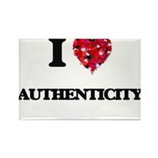I Love Authenticity Magnets