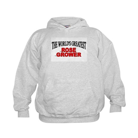 """The World's Greatest Rose Grower"" Kids Hoodie"